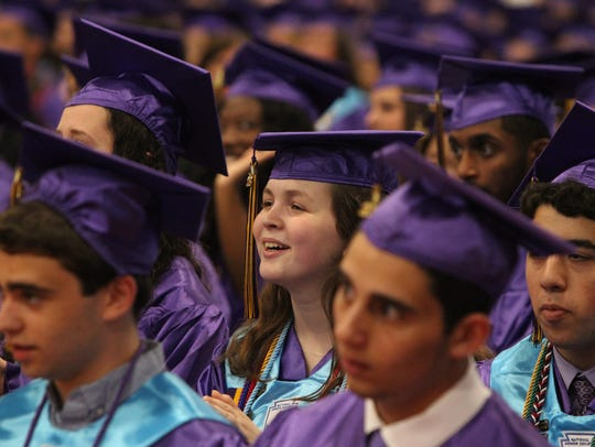 Clarkstown North Graduation at Rockland Community College