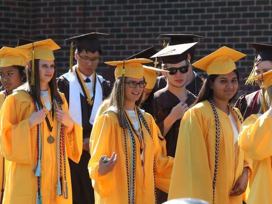 Clarkstown South Graduation June 21, 2018.