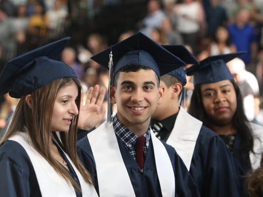 Suffern High School graduation at Rockland Community College June 21, 2018.