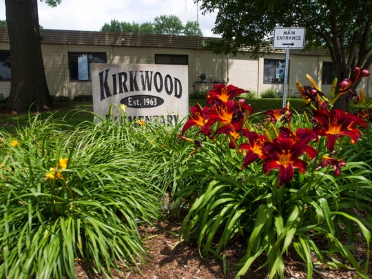 Kirkwood Elementary School is seen in Coralville on