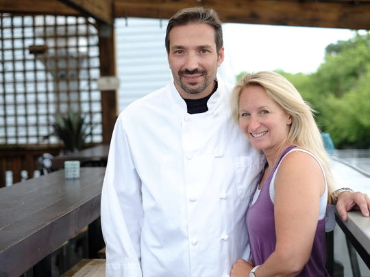 Azzurro co-owners Francesco and Tonya Agostino opened their Rehoboth Beach restaurant in May 2018.