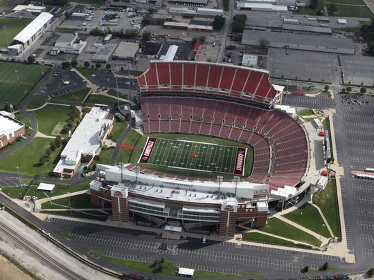 University of Louisville Sports Complex.  UofL Athletic