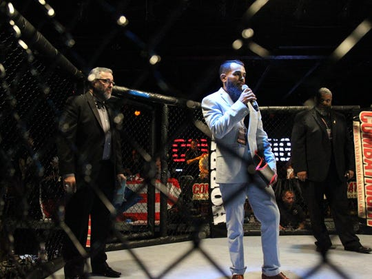Combat Night co-founder Mitchell Chamale at Combat