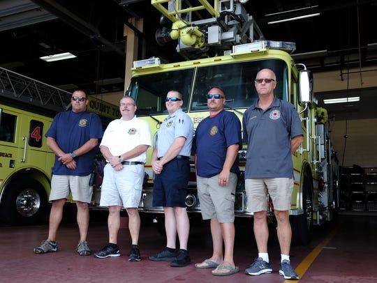 Bethany Beach Volunteer Fire Company Chief Brian Martin,
