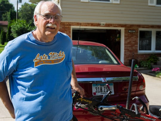Steve Selzer, a founder of Sprint Selzer Bicycle Club,
