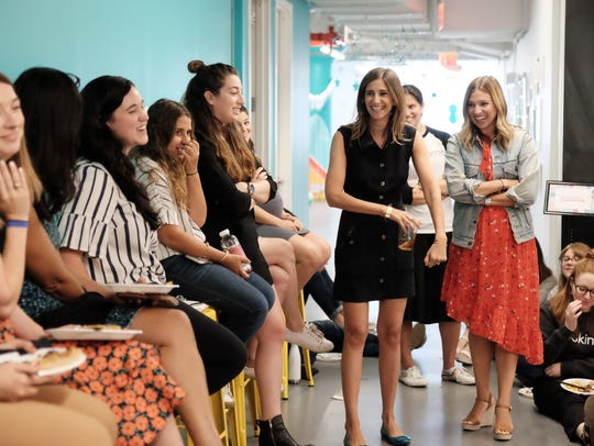 Carly Zakin and Danielle Weisberg, Skimm co-founders