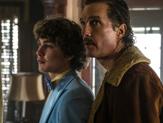 Richie Merritt (left) and Matthew McConaughey star
