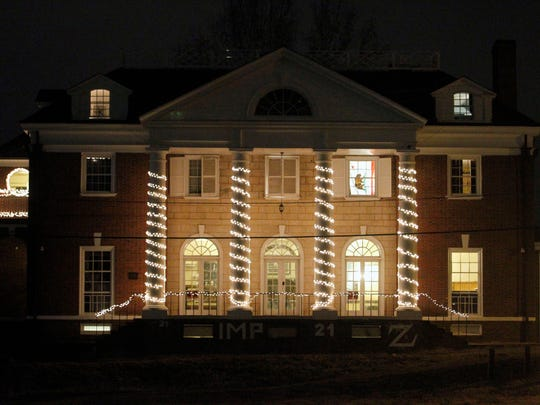 The Phi Kappa Psi fraternity house in Charlottesville,