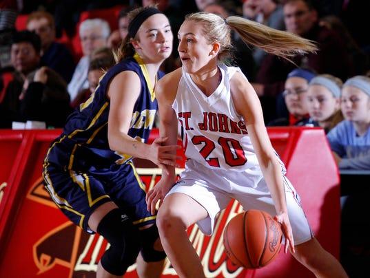 DeWitt at St. Johns Basketball