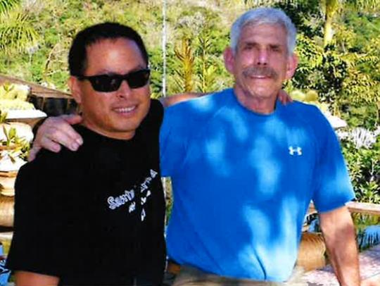 Life partners Ralph Lalo Barajas and Peter Fleurat
