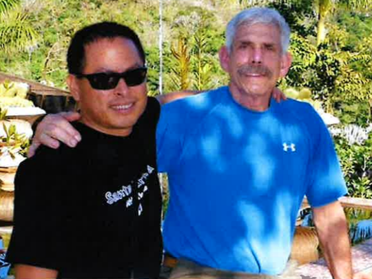 Life partners Ralph Lalo Barajas and Peter Fleurat were swept away from their home in Montecito during the Jan. 9 mudslides. Fleurat, 73, died in the mudslide and Barajas is named as a plaintiff in his life wrongful death lawsuit against Southern California Edison.