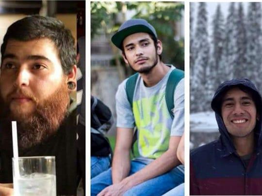 Javier Salomón Aceves Gastélum, Daniel Díaz y Marco Ávalos fueron privados de su libertad en Tonalá, Jalisco.