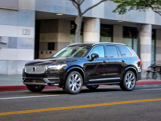Volvo XC 90 – The first vehicle sold in the U.S. to combine turbocharging and supercharging, the big XC90 SUV gets 316 horsepower out of a mere 2.0 liters, and rated 25 m.p.g. in highway driving.