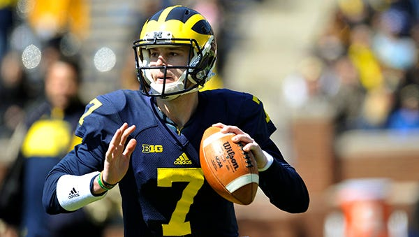 Michigan QB Shane Morris