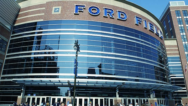 Ford Field would be the site of the championship game.