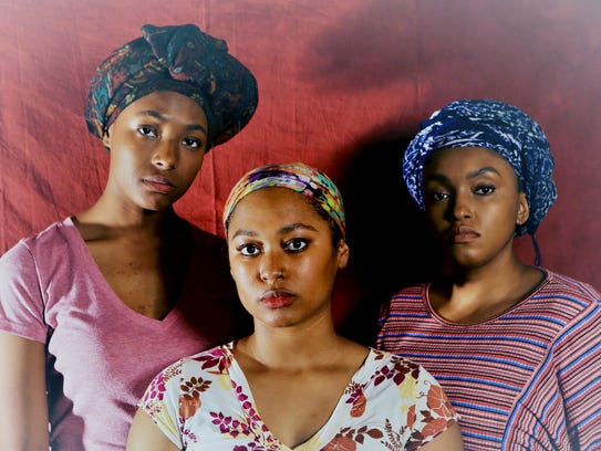 """""""Eclipsed"""" features Candace-Omnira LaFayette, left,"""