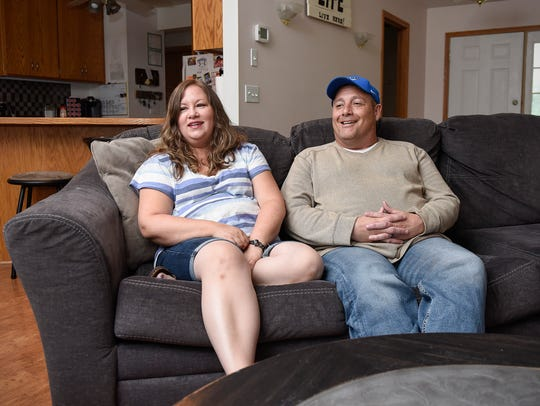 Foster parents Janita and Kevin Dieger talk about the