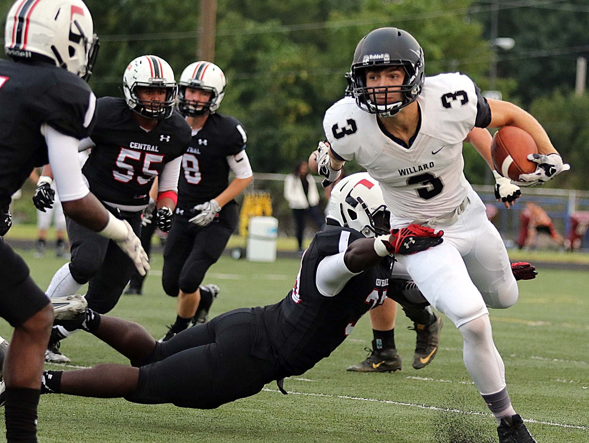 Central High School's move to the Ozark Conference in 2018 will eliminate non-conference football games against teams such as Willard.