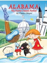 """Alabama: My Home Sweet Home"" is a new book by Alabama author Charles Ghigna."
