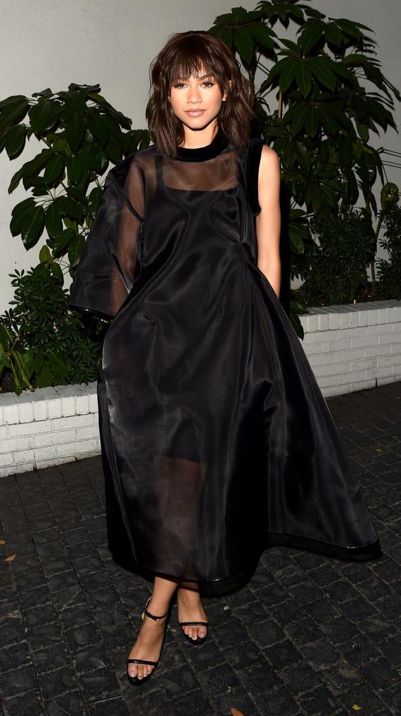 Actress Zendaya attends the W Magazine celebration