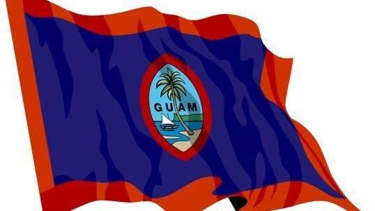 Guam flag.