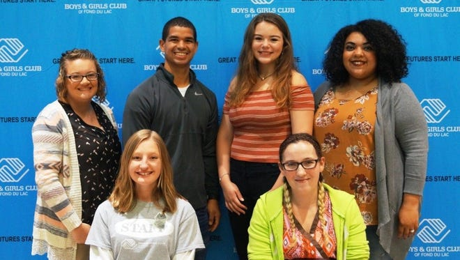 The Youth of The Year gathered at the Boys & Girls Club of Fond du Lac's 20-year celebration. Those who attended are Autumn Smet, 2017 Youth of the Year; Bernadette (Eisenach) Bortner, 2006 Youth of the Year; Amy (Alsteen) Guell, 2005 Youth of the Year; Eric Pantojas, 2008 Youth of the Year; Isabel McLeod, 2016 Youth of the Year; and Brittany Hernandez, 2010 Youth of the Year. Not pictured: Former Youth of the Year representatives Alex Pauliot, Ryan Liedke, Oji Dallas, Jeremy Lefeber, Blayne Meyer, Amari McGowan and Mia McDonald.