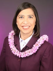Department of Interior Assistant Secretary for Insular Affairs Esther Kia'aina.
