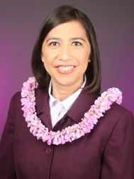 Department of Interior Assistant Secretary for Insular Affairs Esther Kia'aina.