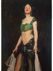 """""""Salome Dancer"""" by Robert Herni (1909) is included"""