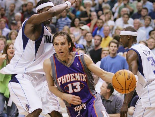 DALLAS - May 15, 2005:  Steve Nash of the Phoenix Suns