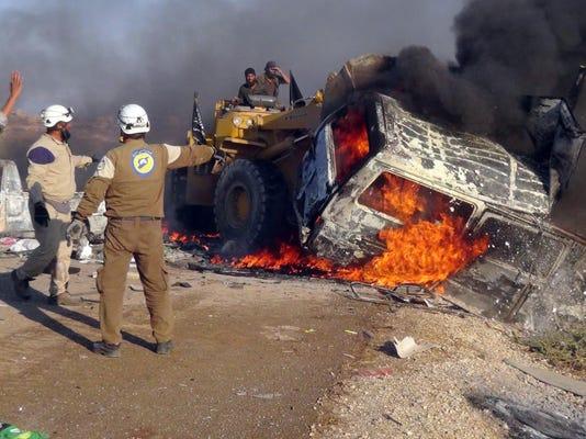 Mideast Syria Hama Offensive