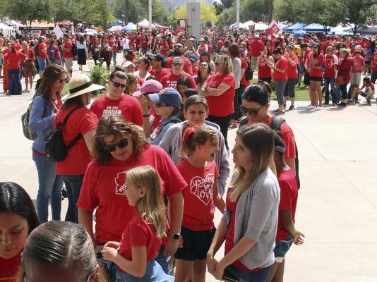 Teacher Protests Arizona
