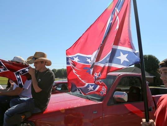AP CONFEDERATE FLAG-STUDENT SUSPENSIONS A USA VA