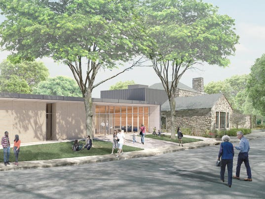 Scarsdale library rendering