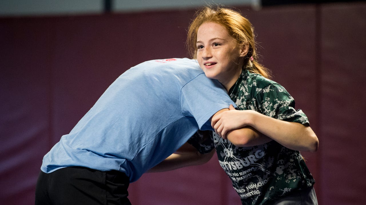Bermudian Springs seventh grader Maddi Wellen talks about facing stereotypes as a female wrestler and how to overcome them.