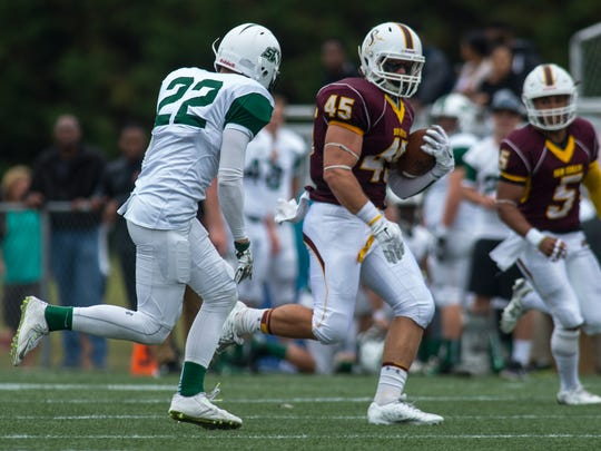 Connor Cononico ran for more than 100 yards last week.