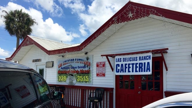 Las Delicias Cafeteria opened in late 2015 at the corner of SR 80 and Joel Boulevard in Alva.