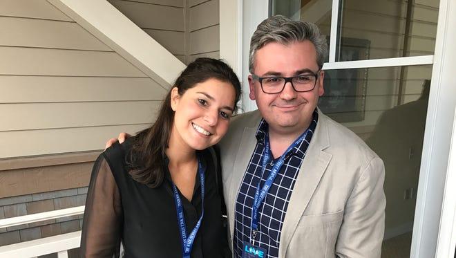Wall Street Journal tech columnists Joanna Stern and Geoffrey Fowler