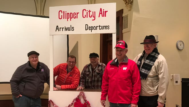 "The Clipper City Chordsmen will present their Christmas show, ""'Twas the Flight Before Christmas,"" at 7 p.m., Saturday, Dec. 10, at the Endries Performance Hall on the campus of Silver Lake College. Pictured, from left, are Brad Davis, Don Lewellen, Chris Neumeyer, Bill Heinzen and Al Boeldt."