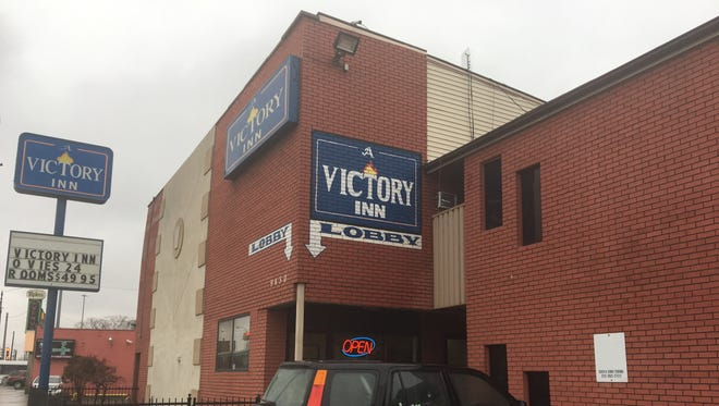 A Victory Inn on Michigan in Detroit was raided January 12, 2017.