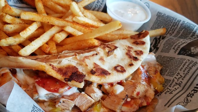 Chef Cheryl Mochau looks forward to introducing culinary tour participants to some of her favorite Evansville restaurant dishes, such as the Life Changer Calzone at Salad World.