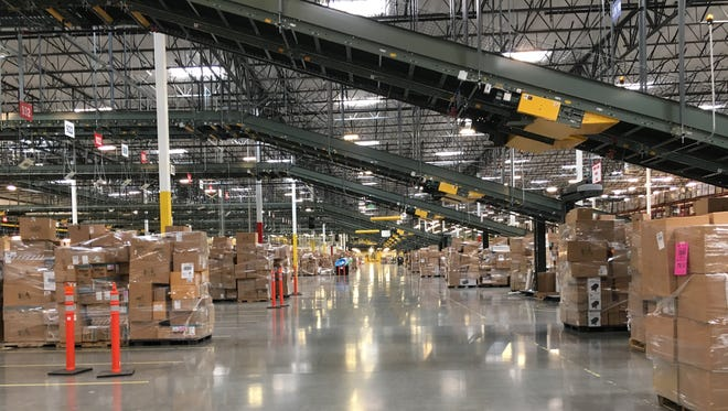 Dick's Sporting Goods is one of several distribution centers along Loop 303 in the PV303 business park in Goodyear.