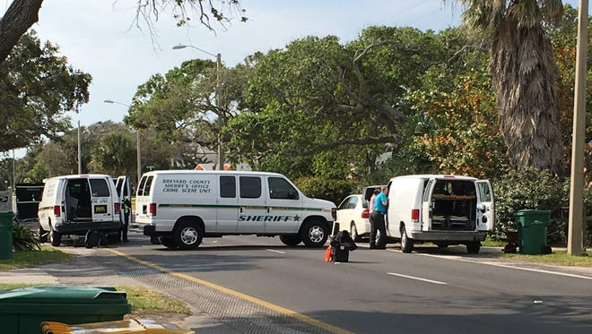 Cocoa Beach police are trying to find the car that struck and killed a man Thursday.