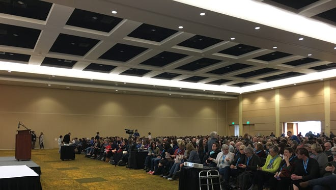 A crowd of more than 1,200 people gathered Sunday for speeches by authors Sherman Alexie and Margaret Atwood. It was the final event of the UntitledTown book and author festival.
