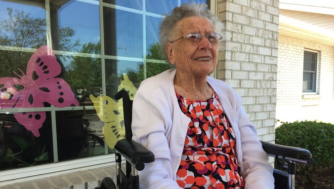 Mary Willer, a longtime Clyde resident, turned 100 July 14. Willer lives at Bethany Place in Fremont.
