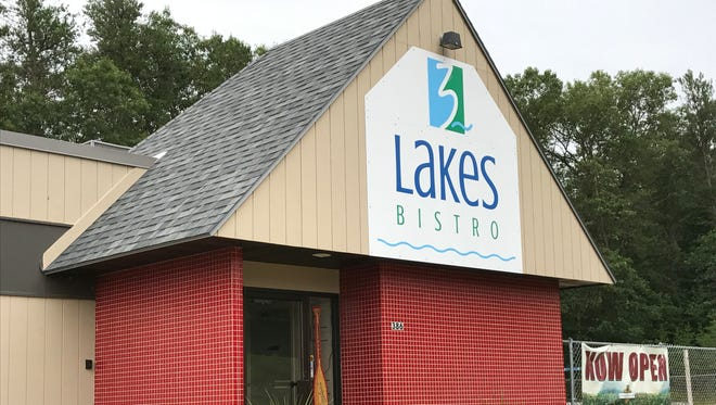 3 Lakes Bistro is located at 386 State 13 in Rome.