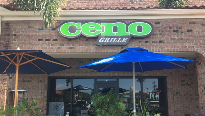 Ceno Grille in southwest Cape Coral serves Italian and Greek cuisine.
