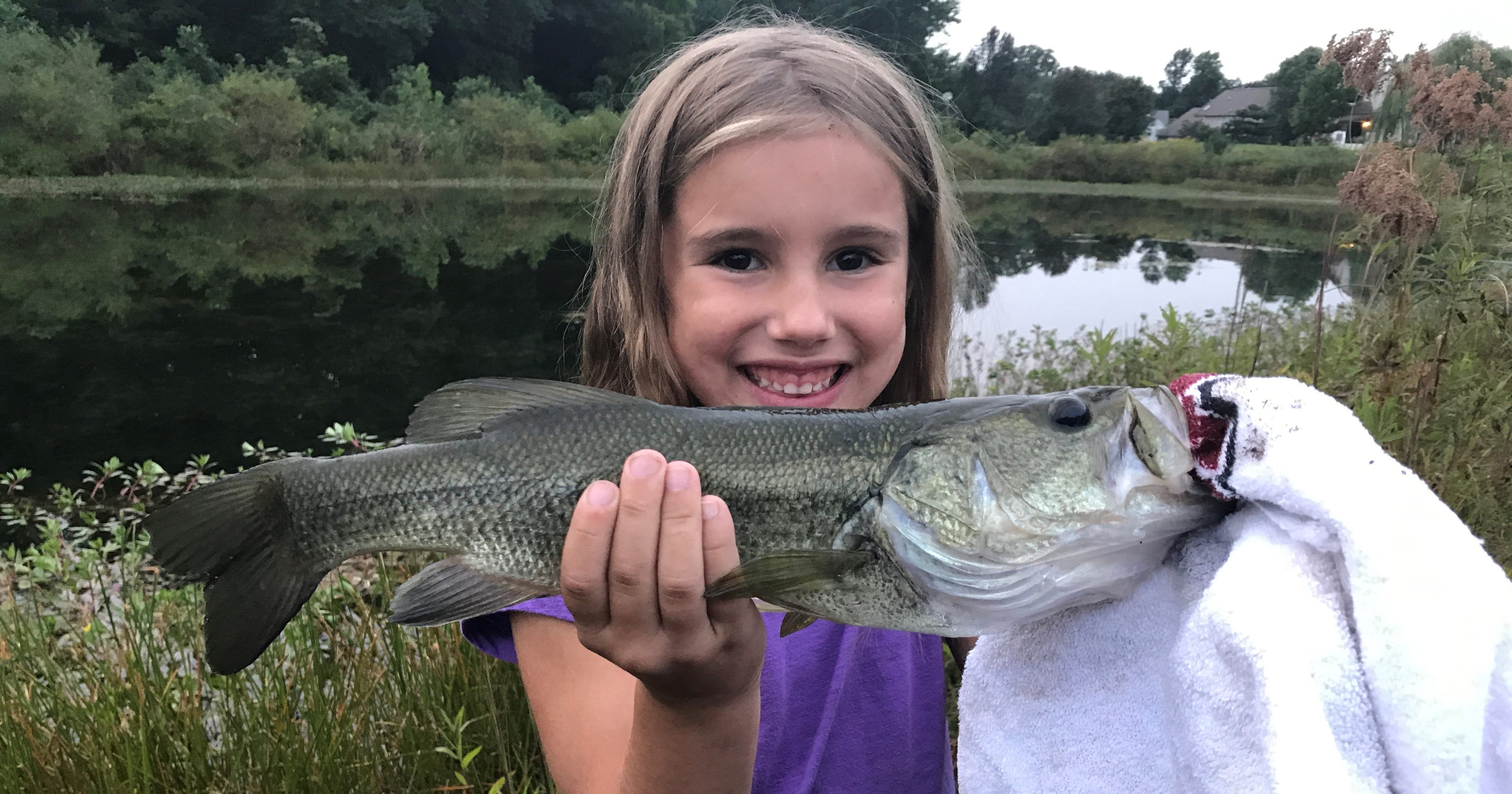 This time of year is perfect for bass fishing