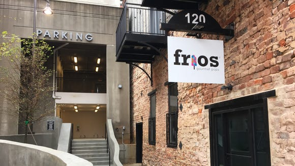 Frios Gourmet Popsicles' downtown Montgomery location is along a new alley off Dexter Avenue.