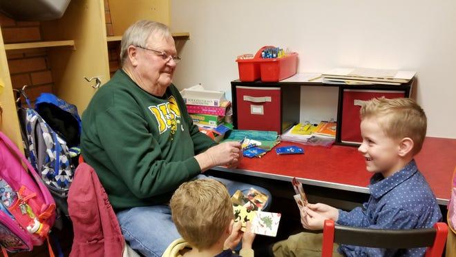 The Retired and Senior Volunteer Program has volunteer opportunities with 22 teachers in six elementary schools.